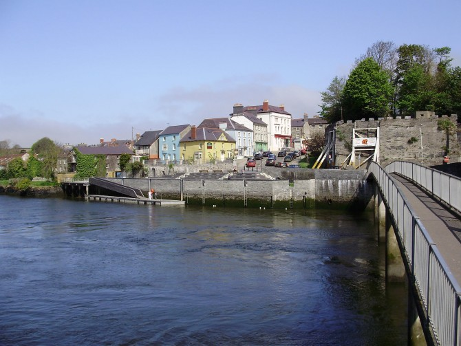 Cardigan Bridge and Town