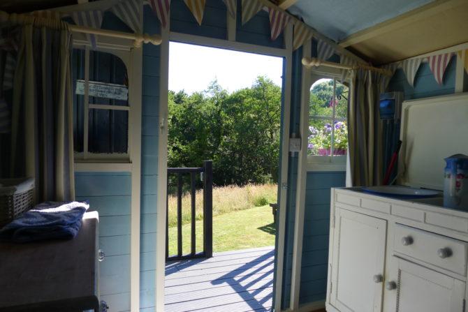 Bathroom Hut View
