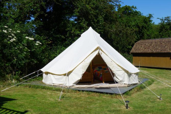Cwt Gwyrdd Bell Tent