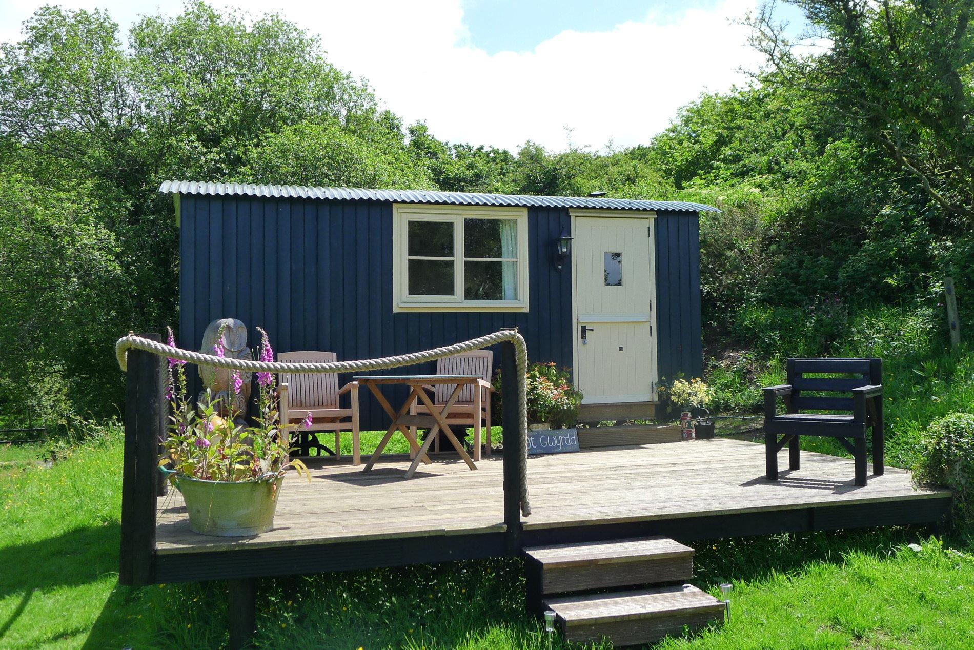 Shepherd's Hut Exterior