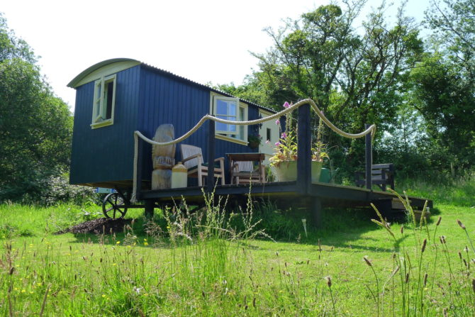 The Shepherds Hut Pembrokeshire